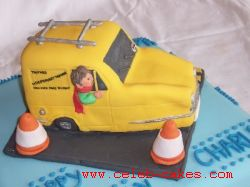 Reliant cake topper